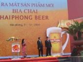 Ra mắt sản phẩm mới bia chai HAIPHONG BEER